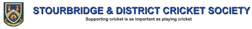 Stourbridge and District Cricket Society